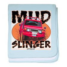 Mud Slinger Offroad baby blanket