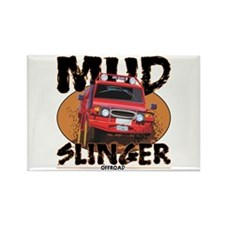 Mud Slinger Offroad Rectangle Magnet