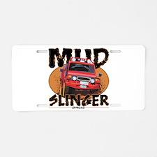 Mud Slinger Offroad Aluminum License Plate