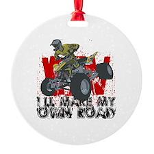 Atv My Own Road Ornament