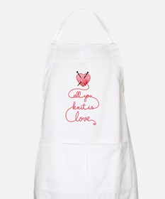 All you knit is love Apron