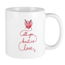All you knit is love Mugs