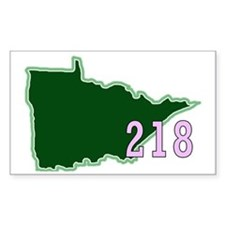 Minnesota 218 Decal