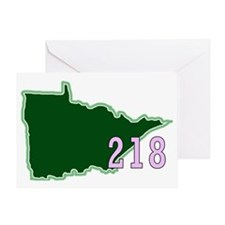 Minnesota 218 Greeting Card