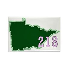 Minnesota 218 Rectangle Magnet