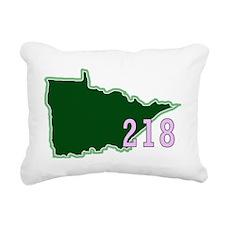Minnesota 218 Rectangular Canvas Pillow