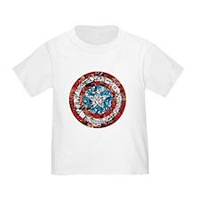Captain America Shield Collage T