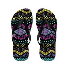 Tribal Dominance Flip Flops