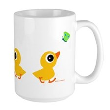 ducklings_row Mugs