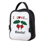 I Love Beets Neoprene Lunch Bag