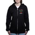 I Love Beets Women's Zip Hoodie