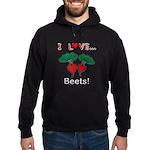 I Love Beets Hoodie (dark)