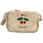 I Love Beets Messenger Bag