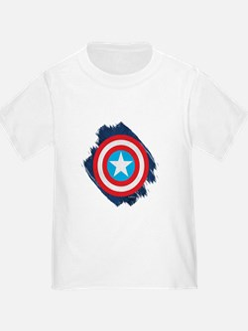Captain America Distressed Shield T
