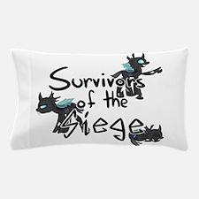 Survivors of the Siege (logo) Pillow Case
