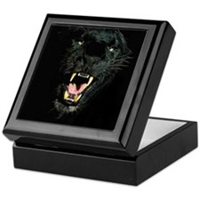 Black Panther Face Keepsake Box