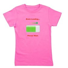 Brain Loading Red.png Girl's Tee