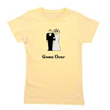 Game Over Black.png Girl's Tee