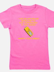 GeoCache Tupperware Yellow.png Girl's Tee