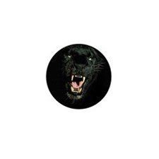 Black Panther Face Mini Button (10 pack)