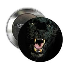 """Black Panther Face 2.25"""" Button"""