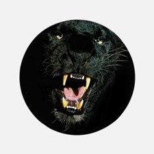 """Black Panther Face 3.5"""" Button"""