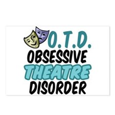 Funny Theatre Postcards (Package of 8)