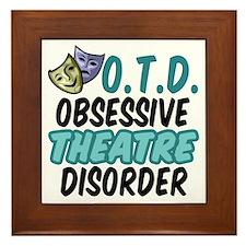 Funny Theatre Framed Tile
