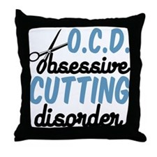 Funny Cutting Throw Pillow