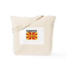 Skopje, Macedonia Tote Bag
