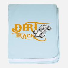 Dirt Track Sprint Car baby blanket