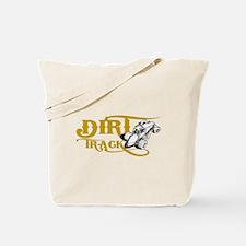 Dirt Track Sprint Car Tote Bag