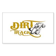 Dirt Track Sprint Car Decal