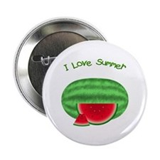 Watermelon Summer Button
