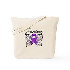 Survivor Fibromyalgia Tote Bag