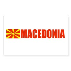 Macedonia Rectangle Decal