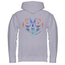 Cute Purple octopus Hoodie