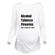 ATF Chips Long Sleeve Maternity T-Shirt