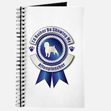 Showing Affenpinscher Journal