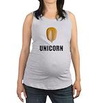 Unicorn Corn Maternity Tank Top
