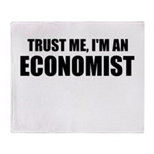 Trust Me, Im An Economist Throw Blanket