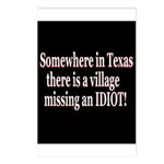 Village Idiot Postcards (Package of 8)