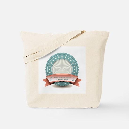 Registered Coonass Tote Bag