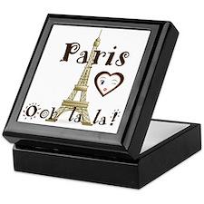 Paris Ooh lala Keepsake Box