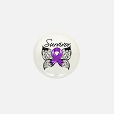 Survivor Epilepsy Mini Button (10 pack)