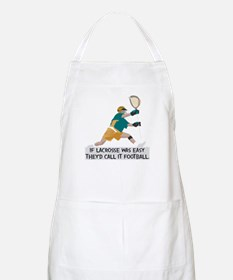 If Lacrosse Was Easy Apron