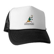 If Lacrosse Was Easy Trucker Hat