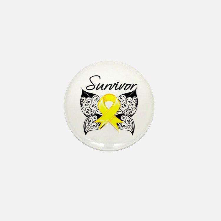 Survivor Endometriosis Mini Button