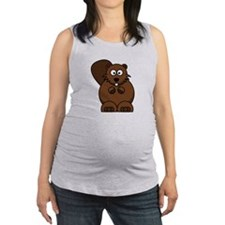 FBC Beaver ONLY.png Maternity Tank Top