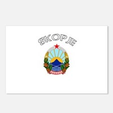 Skopje, Macedonia Postcards (Package of 8)